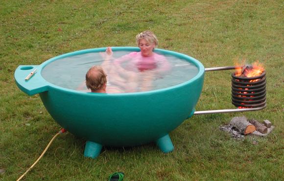 Как сделать ванну на даче фото